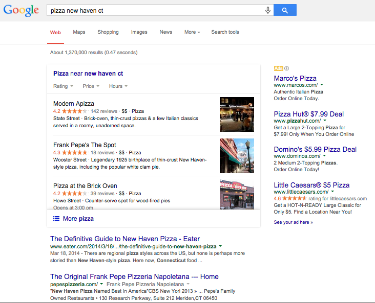 The Anatomy Of A Google Search Wallfrog Marketing Agency