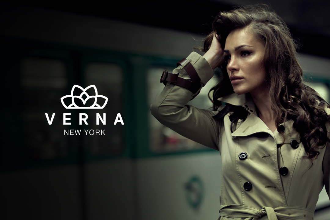 verna logo design