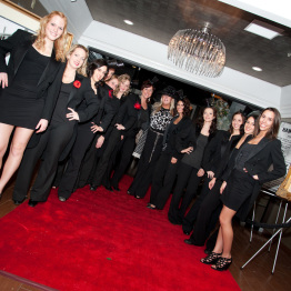 Staff Waiting for Guests at Corporate Event by Lou Ferraro Event Photographer