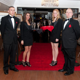 Photo of Staff at Red Carpet Event