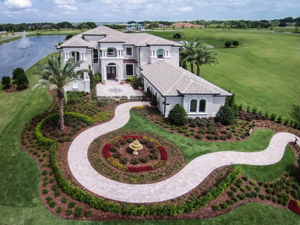 Aerial Shot of Multi-Million Dollar Home in Windermere | Real Estate Photography FL