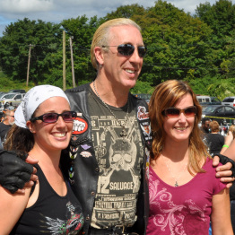 Fans of Dee Snider at Business Event