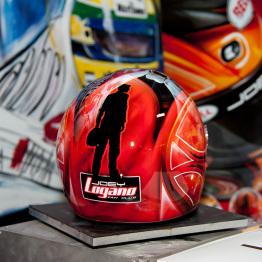 Joey Loganos Helmet for Charity