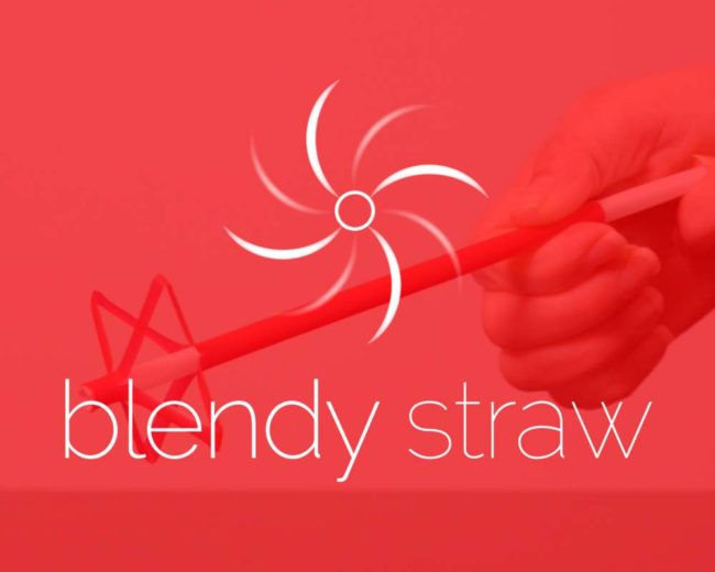 Blendy Straw – Logo Design