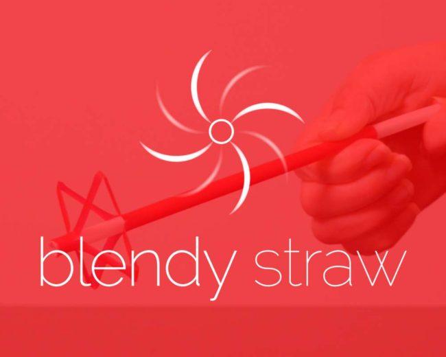 Blendy Straw – Logo Design