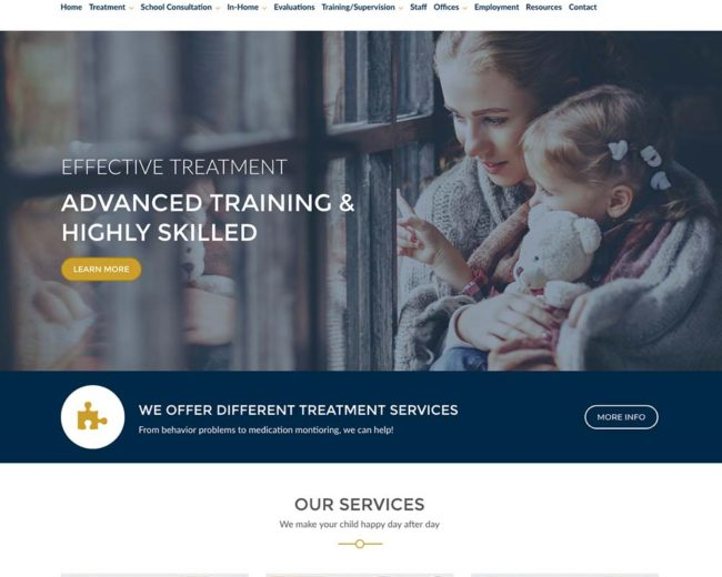 Connecticut Behavioral Health – Website Design
